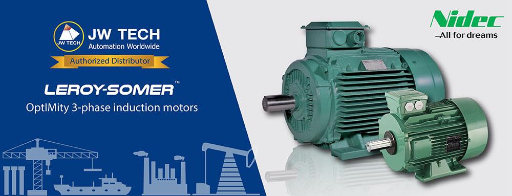 Motor Nidec บริษัท เจดับบลิวเทค จำกัด Jwtech Company Limited